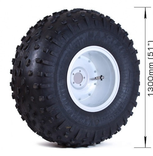 Wheel (tire) for Petrovitch all-terrain vehicle
