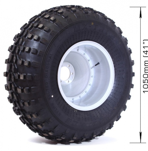 Assembled wheel MX-TRIM (2 layers) with 6х139,7, DIA 110 disk