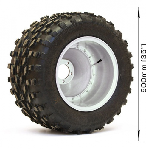 Assembled wheel M-TRIM (2 layers) with disk for UAZ, NIVA