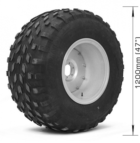 Assembled wheel X-TRIM (4 layers) with 6х139,7, DIA 110 disk